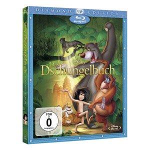 Disney Das Dschungelbuch (Diamond Edition) und weitere Disney Blu-Rays für 6,99€ @Real-Onlineshop
