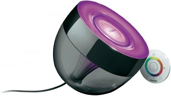 Philips LivingColors Iris Schwarz LED-Dekoleuchte 7099930PH mit Fernbedienung inkl. Versand für 59,99€ @Digitalo.de