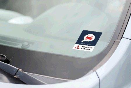 Rettungskarte und Aufkleber für dein Auto kostenlos