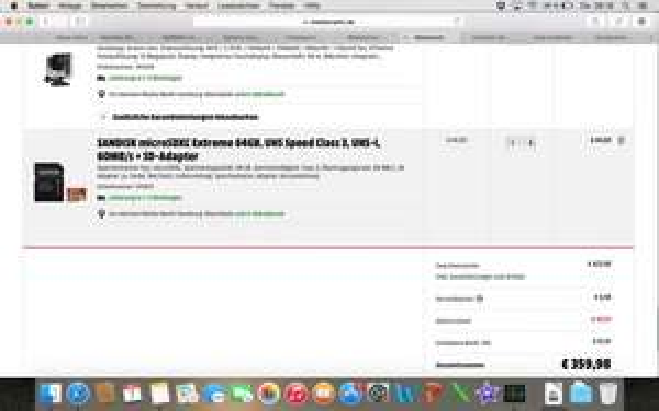 Gopro Hero 4 Silver + 64 GB SD Card für 354,99 €