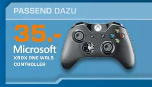[lokal Saturn - 91522 Ansbach] Xbox One Wireless Controller (schwarz)
