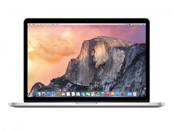"Apple MacBook Pro 15.4"" mit Retina-Display, i7-Quad-Core, 16GB RAM, 256GB SSD - 1.799€ bei ebay/Gravis [1.619,10€ bei Filialabholung]"