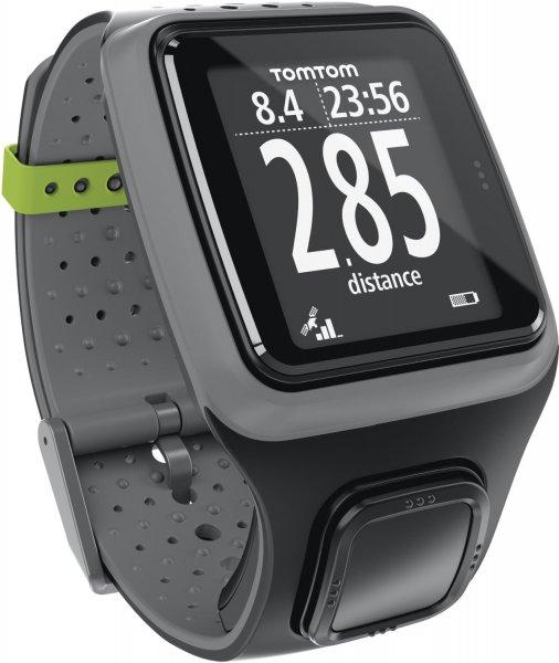[Runners Point] Tom Tom GPS Sportuhr Runner HRM Dark Grey inkl. Brustgurt