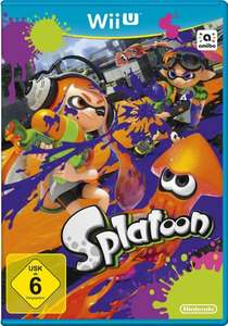 Wii U Titel Splatoon Nintendo E-Shop Download 10% OFF