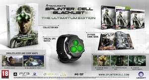 Tom Clancy's Splinter Cell: Blacklist - Ultimatum Edition [PC/XBOX/PS3] für je 12,98€ @ Amazon.de (oder als UK Import via Coolshop für 9,99€)