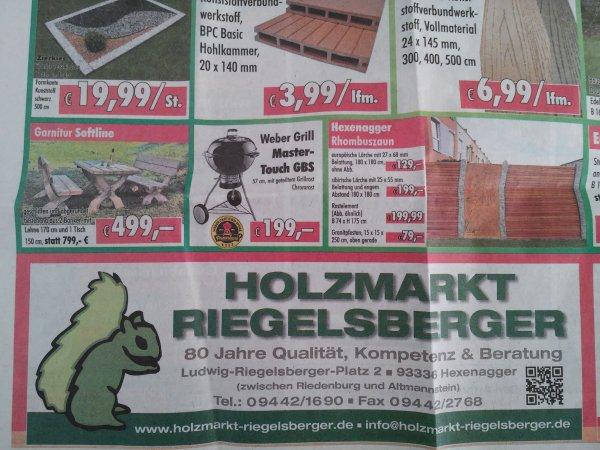Weber Master Touch GBS 57 für 175€ [Bauhaus Tiefpreisgarantie] oder 199€ [lokal]