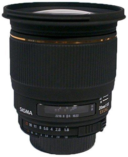 Sigma Objektiv AF 20mm 1.8 EX DG Asp RF (Nikon) für 565,71 € @Amazon.es