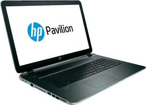 [Redcoon] HP 17-f212ng (17,3'' HD+ BrightView, Celeron N2840, 4GB RAM, 500GB HDD, FreeDOS) ab 274€