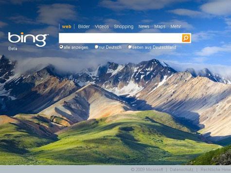 Bing Streetside Vogelperspektive @bing.com