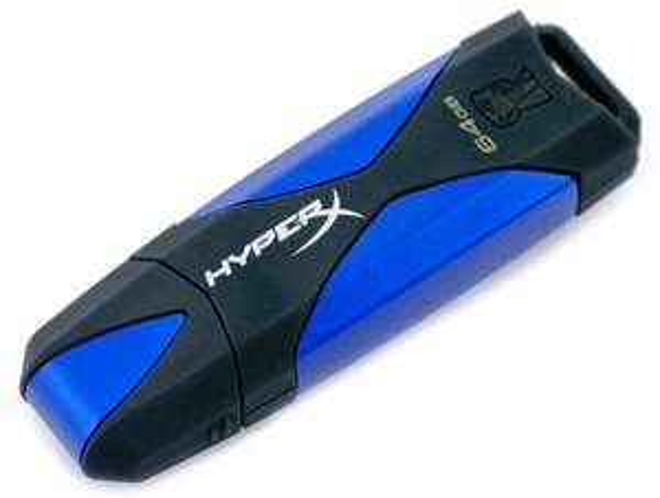 Kingston USB-Stick DataTraveler HyperX 3.0, 64 GB für 36,99 € statt 55,20 €, bei @ZackZack