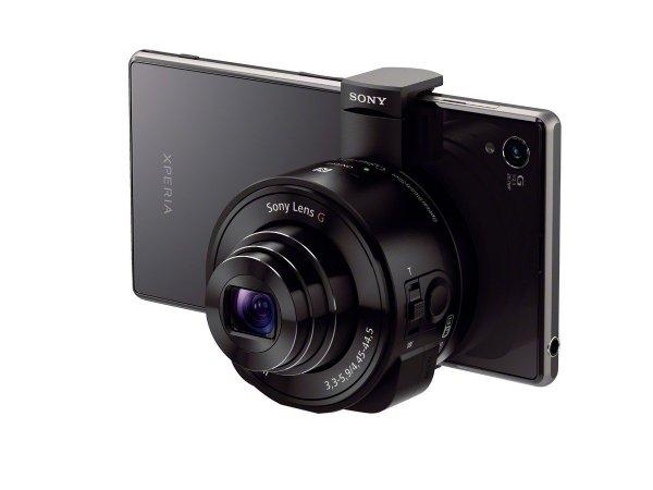 Sony DSC-QX10B Kamera für Smartphone