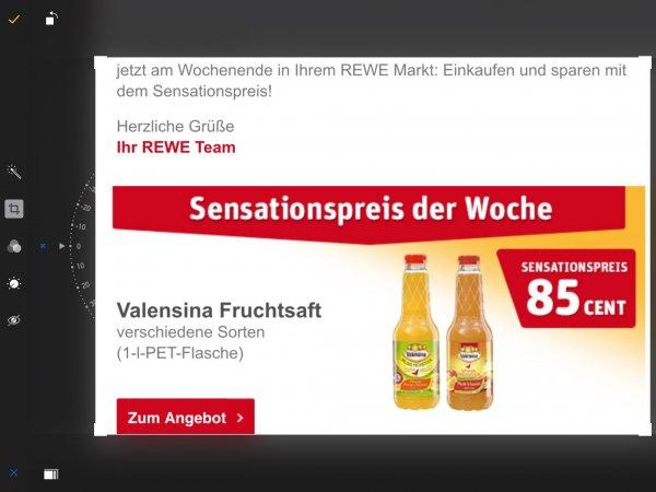 Valensina bei Rewe bis Samstag 0,85€