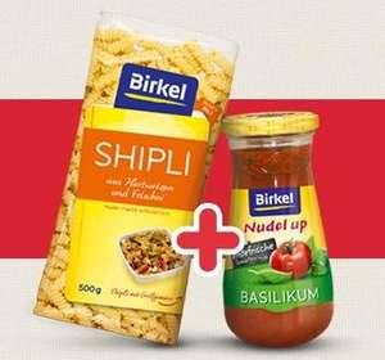 Birkel Nudeln + Saucen - Gratis Testen