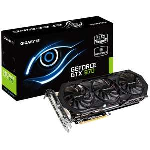 Gigabyte GeForce GTX 970 WindForce 3X - 3,5GB + 0,5GB, 2x DVI, HDMI, 3x DP + Whitcher 3 & Batman - 330,90€ - Atelco
