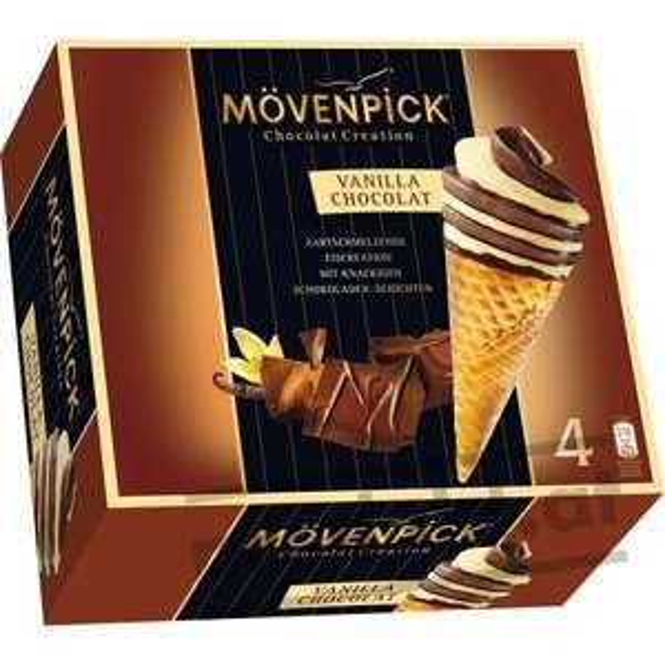 [MAGOWSKY] Mövenpick Eis - Chocolate Creations 4 Stück für 1,49€