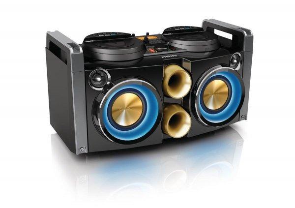 Philips NTRX100/12 Mini Hi-Fi System 380 Watt  Ghettoblaster 40% günstiger