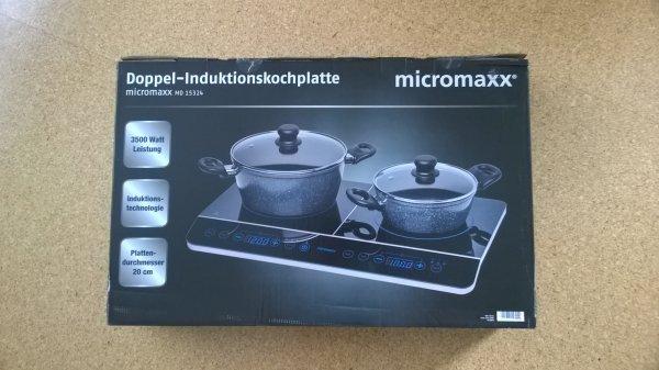 Lokal (Essen) Medion/Micromaxx Doppel-Induktionskochplatte 3500W €59,99
