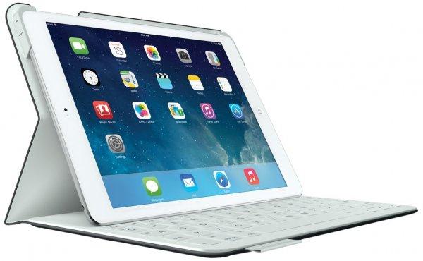 [Amazon] iPad Air: Logitech FabricSkin Keyboard Folio for iPad Black (QWERTZ, deutsches Tastaturlayout)