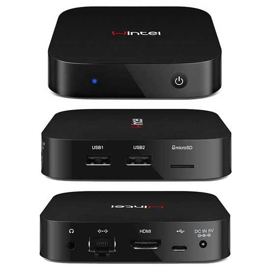 (CN) Wintel TV Box : Atom Z3735F 2GB+32GB mini-PC mit LAN und Window 8 Bing für ~95€