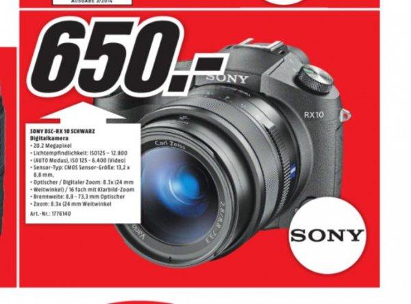[lokal Media Markt Recklinghausen] Sony RX 10 digitale Bridgekamera 20,2 MP 24-200mm/2,8