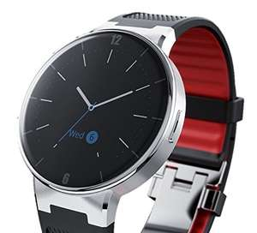 """Alcatel One Touch Smartwatch """"Wave"""", Schwarz Rot oder Weiß inkl. Vsk für 134,44 € > [amazon.fr] > Vorbestellung"""