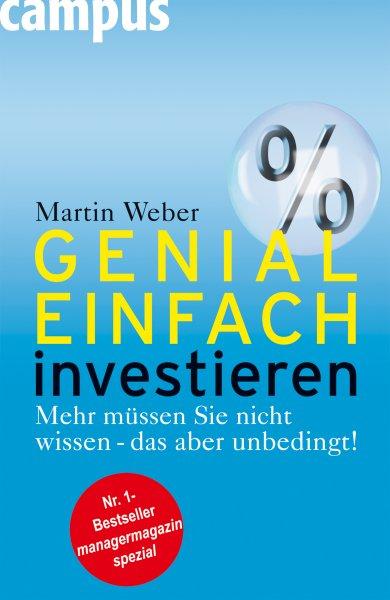 """Buch """"Genial einfach investieren"""" von Martin Weber kostenlos"""