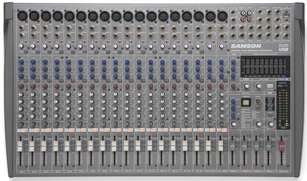 Samson L2000 - 20-Kanal / 4-Bus Mischpult, Mischkonsole für 386,40 € @Amazon.it