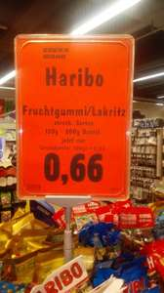 [Bonn] Edeka Mohr HARIBO 0,66 Euro