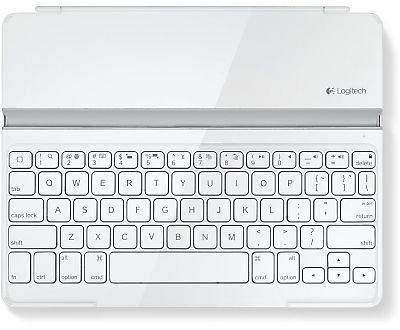Logitech Ultrathin Magnetic Keyboard Cover Weiß - Für iPad/2/3/4 für 39,99 @ ebay.de