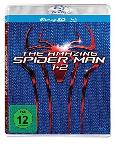 @Saturn.de - The Amazing Spider-Man , The Amazing Spider-Man 2: Rise of Electro - (Blu-ray 3D) für 19,99€