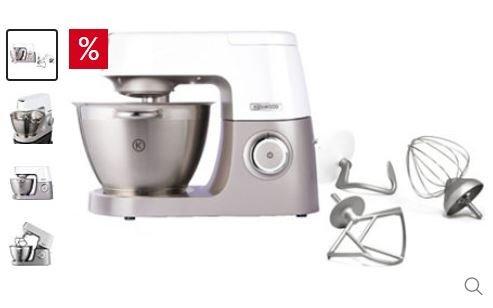 @OTTO Preisknaller - Kenwood Küchenmaschine Chef Sense KVC5000T, 4,5 Liter, 1100 Watt, Edelstahlgehäuse - 299 €