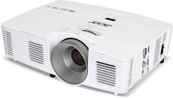 Acer H6520BD 3D Full HD DLP-Projektor (3D-fähig direkt über HDMI 1.4a, 144Hz Triple Flash 3D, Kontrast 10.000:1, 3.500 ANSI Lumen, Full HD 1920x1080 Pixel, MHL ) weiß @Amazon.de Blitzdeals