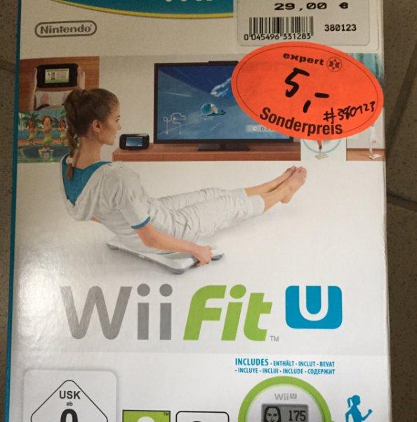 [Lokal Expert Imenau] Wii Fit U inkl. Wii Fit Meter grün
