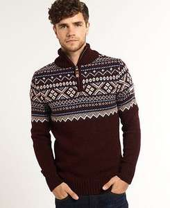Superdry Strick-Pullover, A-Ware