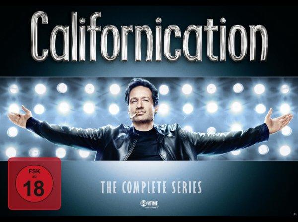 [Saturn] Californication - Complete Box (Staffel 1-7) auf 16 DVDs - für 59€ (54€ mit NL-GS)