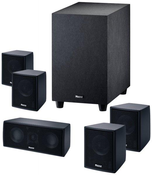[NBB] Magnat Interior 5.1X (schwarz) - 5.1 Lautsprecher-System (Aktiv-Subwoofer) für 174,89€