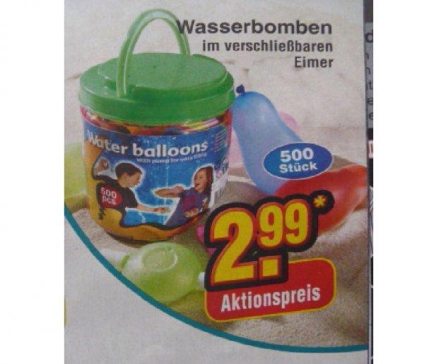 (Netto ohne Hund) 500 Wasserbomben für 2,99€