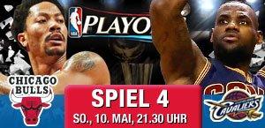 NBA Playoffs bei SPOX ab 21:30 - Cleveland Cavaliers @ Chicago Bulls - Game 4