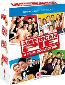 (UK) American Pie Collection ( 1 - 4) (4 x Blu-ray + 4 x Digital Copy) für ca. 12.01€ @ Zavvi (teilweise inkl. deutscher Tonspur)