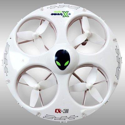 Cheerson CX - 31 Quadrocopter mit Headless mode und UFO Look für 27,31 @Gearbest