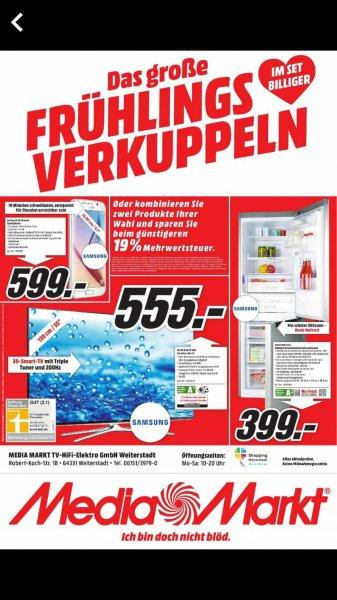 555€ Samsung UE55H6270 139 cm (55 Zoll) [Lokal@MM Weiterstadt ]