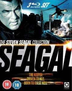 (UK) Seagal Triple Pack Box Set [3 x Blu Ray] @ zavvi