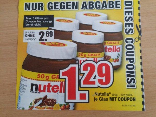 [Lokal + Coupon] Nutella Möbel Buhl (Wolfsburg und Fulda)