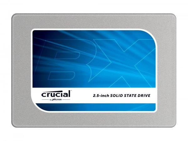 [ebay/gravis] Crucial BX100 SSD, 500 GB int. 6,35 cm SSD, MLC, SATA III für 143,91 EUR