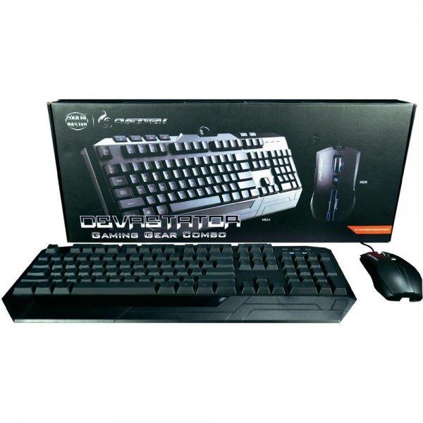 USB-Gaming-Tastatur Cooler Master Storm Devastator Beleuchtet Schwarz für 22,99€