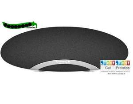 bestbeans Flashmop, Portabler Lautsprecher, Bluetooth, NFC, 2x3 W RMS, 85 dB, bis zu 10 Meter Reichweite, Schwarz/Weiss - 29,90€ - Allyouneed/WEB-VITA