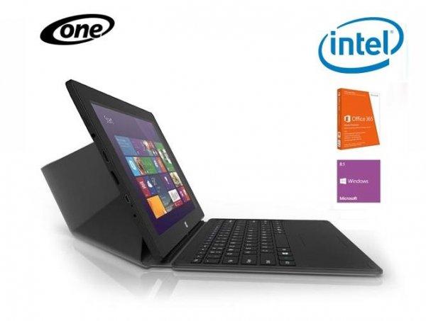 """ONE Tablet Xcellent 10"""" - 10.1'' / 2 GB RAM / 32 GB SSD / Intel Atom Z3735F / 1280 × 800 px / Windows 8.1 + magnetische Dockingstation mit Tastatur und Touchpad für 168€ @one.de"""
