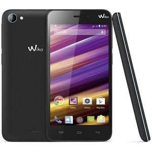 [NBB] - WIKO Jimmy schwarz/blau Dual-SIM Smartphone 11.4 cm (4.5 Zoll) 1.3 GHz Quad Core 4 GB 5 Mio. Pixel Android™ 4.4 Schwarz/Blau