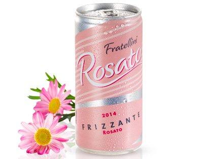 Fratellini 2014 Secco oder Rosato Frizzante in der Dose [Aldi Süd, ab 18.5.]