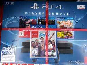Playstation 4 Bundle mit 4 Spielen